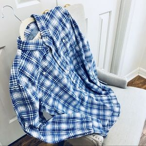 Men's 100%Cotton Long Sleeve Shirt sz M